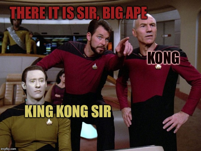 Givesa st | THERE IT IS SIR, BIG APE KONG KING KONG SIR | image tagged in givesa st | made w/ Imgflip meme maker