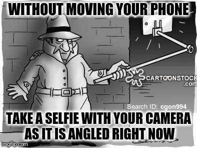 Meme Games: Selfie without moving your phone |  WITHOUT MOVING YOUR PHONE; TAKE A SELFIE WITH YOUR CAMERA AS IT IS ANGLED RIGHT NOW | image tagged in i want to play a game,selfies,i dare you,unexpected,smartphone,random tag | made w/ Imgflip meme maker