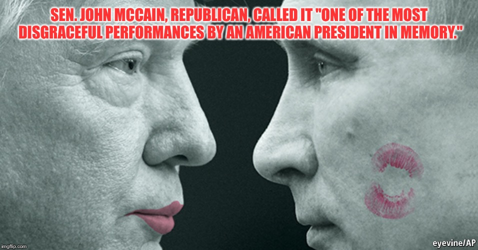 "Me First | SEN. JOHN MCCAIN, REPUBLICAN, CALLED IT ""ONE OF THE MOST DISGRACEFUL PERFORMANCES BY AN AMERICAN PRESIDENT IN MEMORY."" 