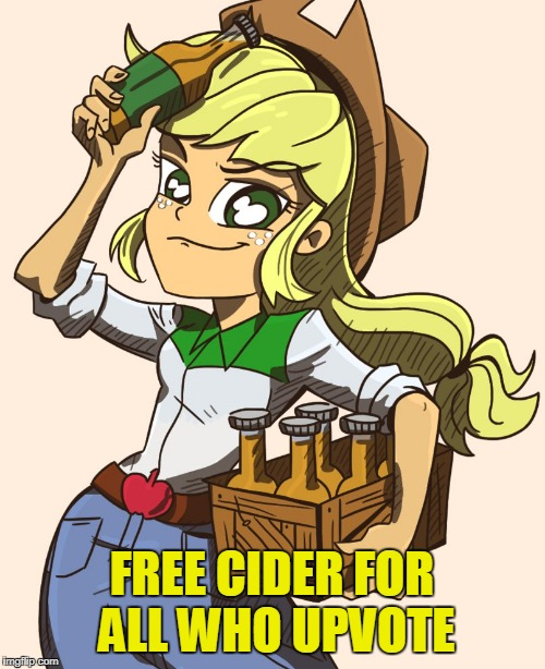 FREE CIDER FOR ALL WHO UPVOTE | made w/ Imgflip meme maker