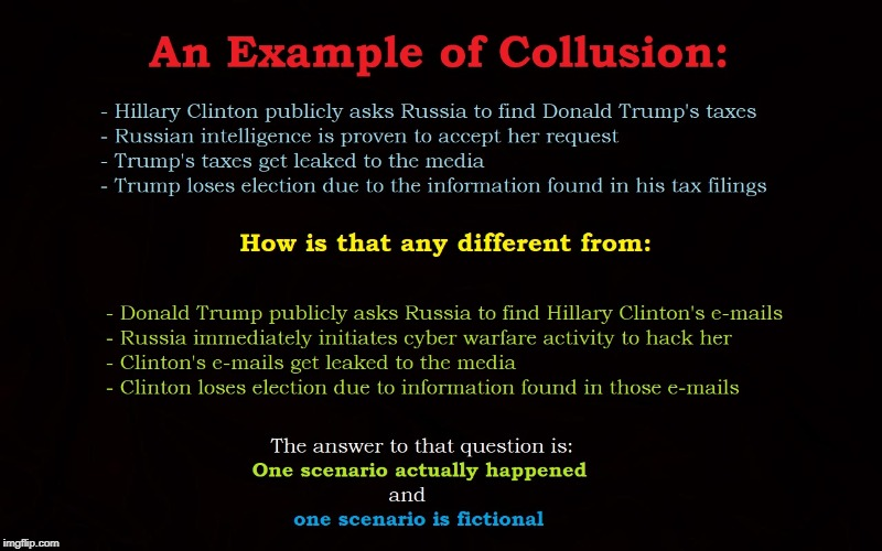 Collusion Illustrated | image tagged in trump,putin,trump russia collusion,collusion | made w/ Imgflip meme maker