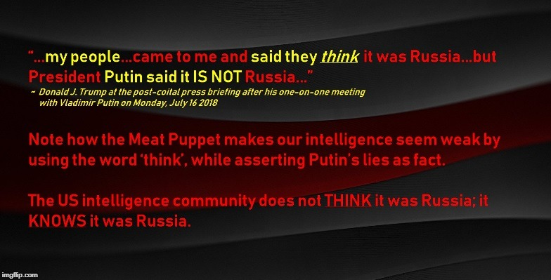 Trump Colludes with Putin to Cover Up Russian Intrusion | image tagged in trump,putin,intelligence,fbi,cia,nsa | made w/ Imgflip meme maker