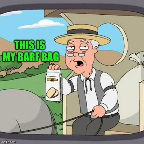 Pepperidge Farm Remembers Meme | THIS IS MY BARF BAG | image tagged in memes,pepperidge farm remembers | made w/ Imgflip meme maker