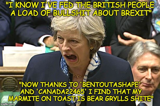 "Vegemite and Marmite secret recipe revealed by BenToutofshape and CANADA22645 | ""I KNOW I'VE FED THE BRITISH PEOPLE A LOAD OF BULLSHIT ABOUT BREXIT"" ""NOW THANKS TO 'BENTOUTASHAPE' AND 'CANADA22465' I FIND THAT MY MARMITE 