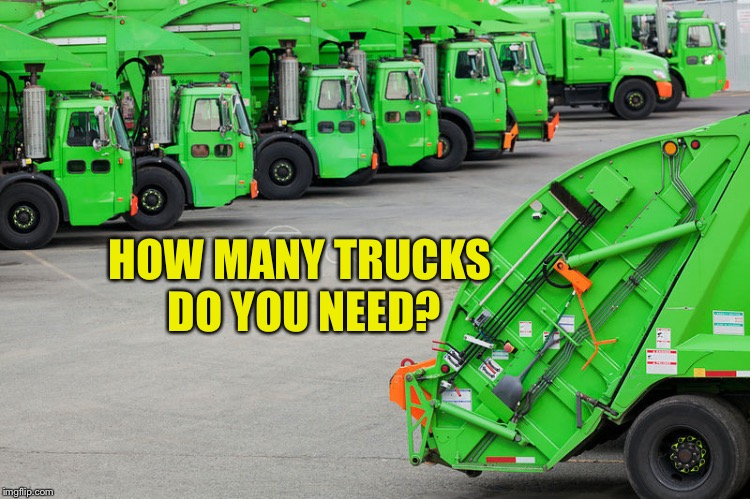 HOW MANY TRUCKS DO YOU NEED? | made w/ Imgflip meme maker