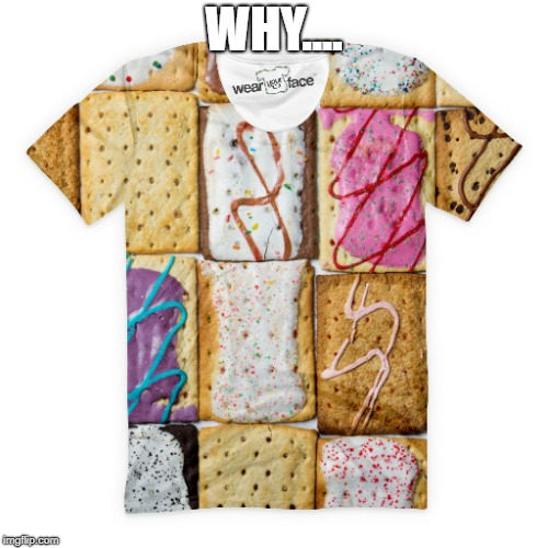 why guys | WHY.... | image tagged in poptart | made w/ Imgflip meme maker