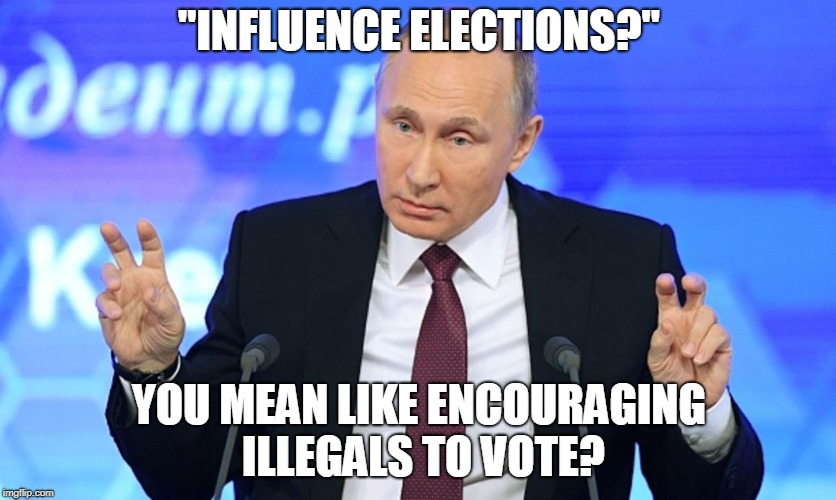 """Influence elections...""  