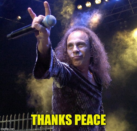 THANKS PEACE | made w/ Imgflip meme maker