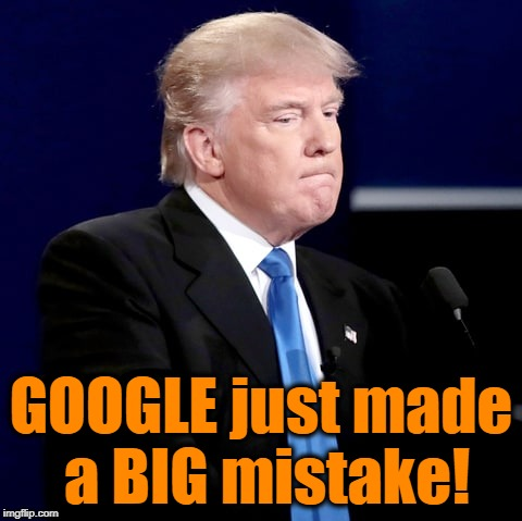 GOOGLE just made a BIG mistake! | made w/ Imgflip meme maker