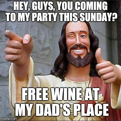 """We'll all have a great big singalong, too!"" 