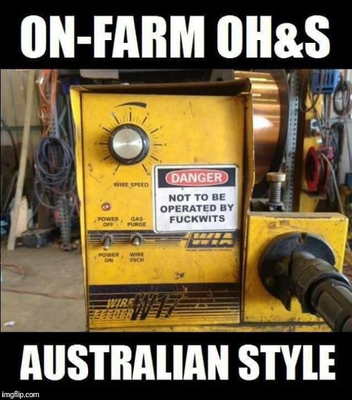 Aussie Rules! | image tagged in funny workplace,aussie rules | made w/ Imgflip meme maker