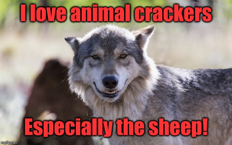 I love animal crackers Especially the sheep! | made w/ Imgflip meme maker