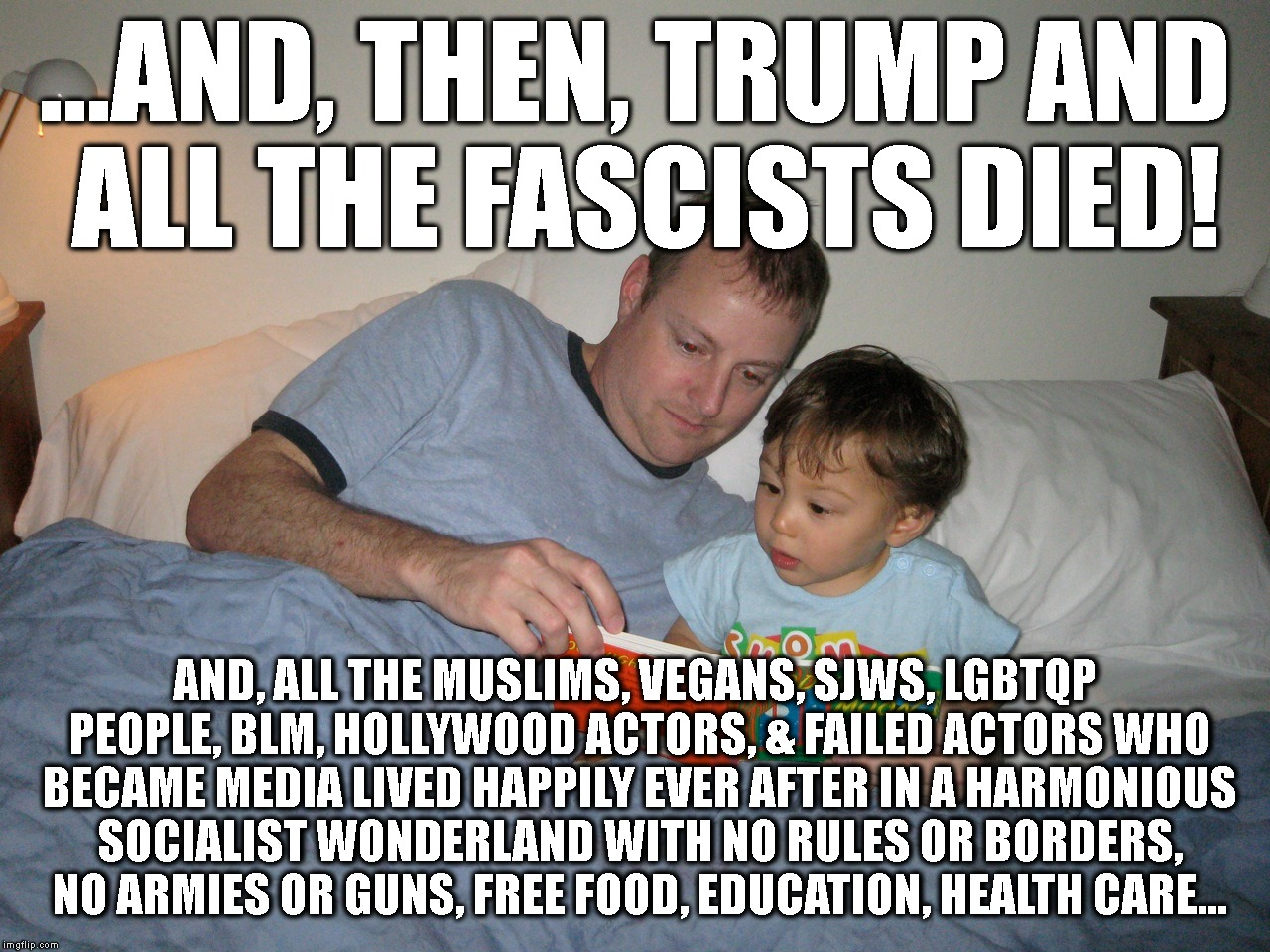 "Kid Reads His ""Mother"" A Bedtime Story 