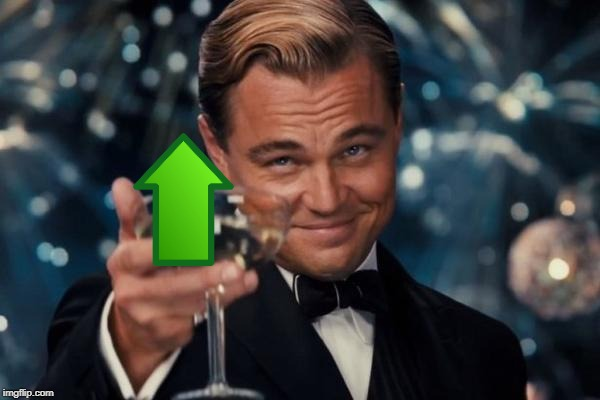 Leonardo Dicaprio Cheers Meme | image tagged in memes,leonardo dicaprio cheers | made w/ Imgflip meme maker