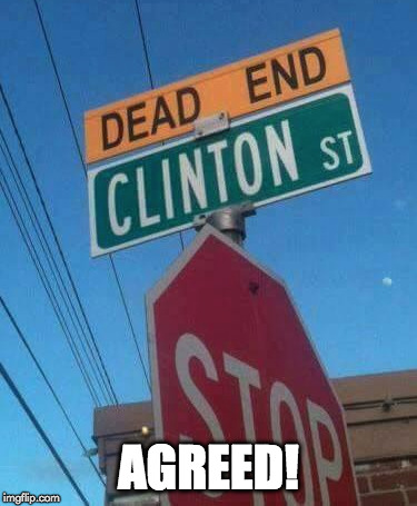 Trigger warning. |  AGREED! | image tagged in donald trump,triggered,hillary clinton,bill clinton,clinton,liberals | made w/ Imgflip meme maker