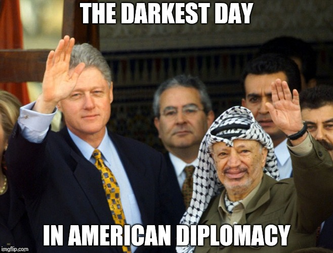 I hope Putin doesn't mind the stench left by these slimeballs | THE DARKEST DAY IN AMERICAN DIPLOMACY | image tagged in best friends forever,bill clinton,terrorist,traitor,slime,democrat donkey | made w/ Imgflip meme maker