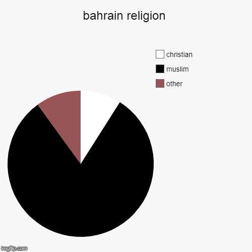 bahrain religion | other, muslim, christian | image tagged in pie charts | made w/ Imgflip pie chart maker