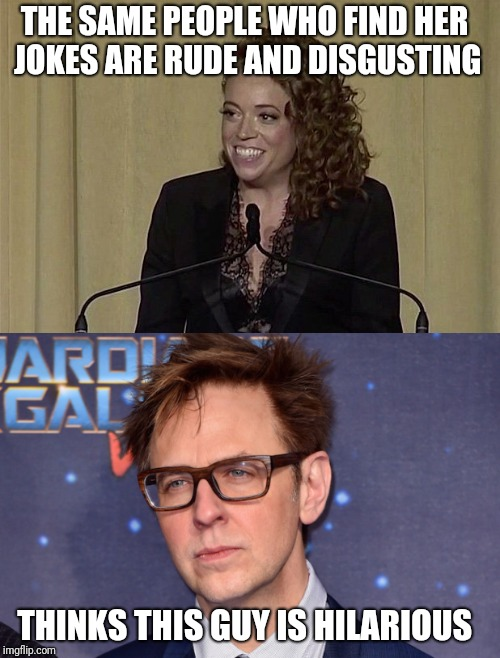 "Anyone who supports James Gunn's ""jokes"" should be expecting a visit from the FBI anytime now 