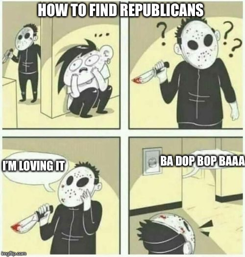 HOW TO FIND REPUBLICANS | made w/ Imgflip meme maker
