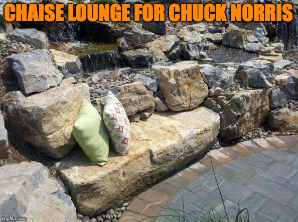 CHAISE LOUNGE FOR CHUCK NORRIS | made w/ Imgflip meme maker