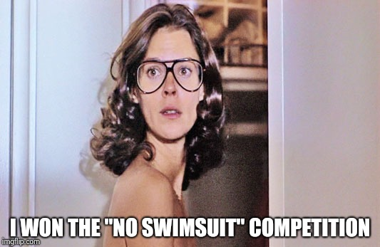 "Jobeth Williams | I WON THE ""NO SWIMSUIT"" COMPETITION 