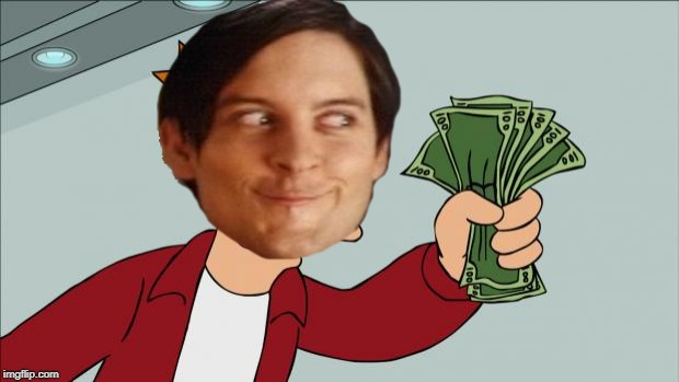 Fry Money | image tagged in fry money | made w/ Imgflip meme maker