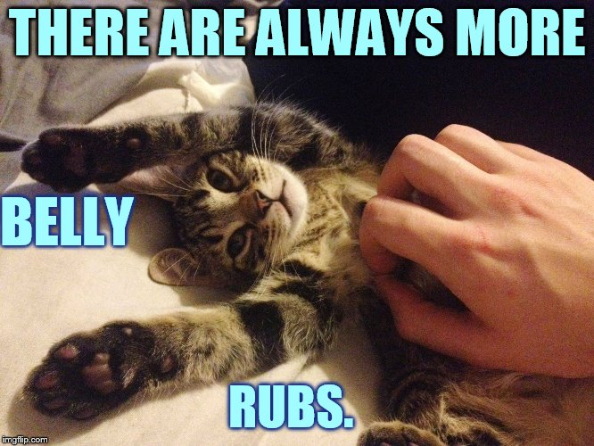 THERE ARE ALWAYS MORE RUBS. BELLY | made w/ Imgflip meme maker
