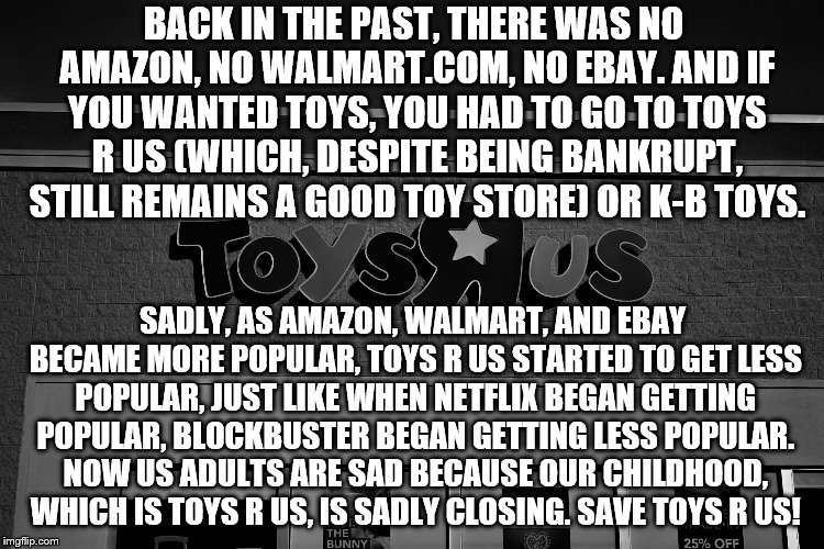 "Save Toys ""R"" Us! 