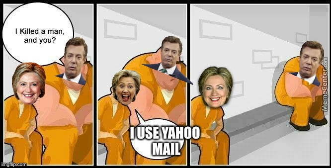 Great news!  Politics Week has been extended to November 3.... 2020 | I USE YAHOO MAIL | image tagged in prisoners blank,memes,hillary clinton,lock her up,paul manafort,lock him up | made w/ Imgflip meme maker