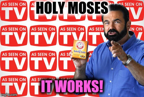 HOLY MOSES IT WORKS! | made w/ Imgflip meme maker
