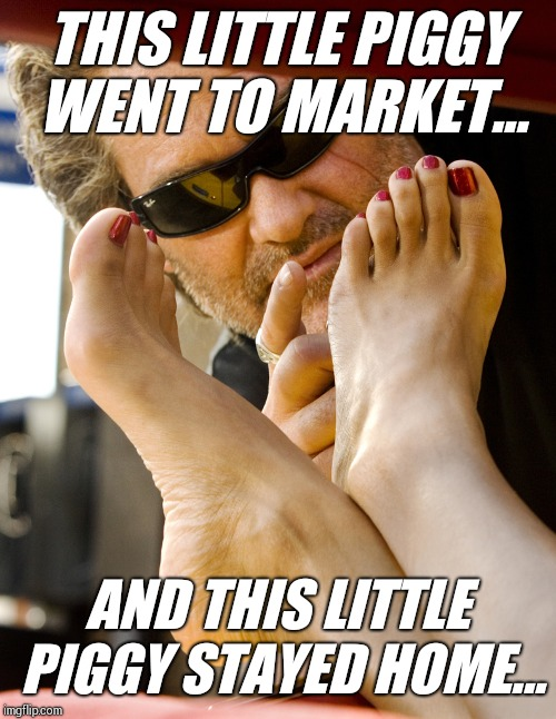 Stuntman Mike playtime | THIS LITTLE PIGGY WENT TO MARKET... AND THIS LITTLE PIGGY STAYED HOME... | image tagged in memes,funny memes,nursery rhymes,kurt russell | made w/ Imgflip meme maker