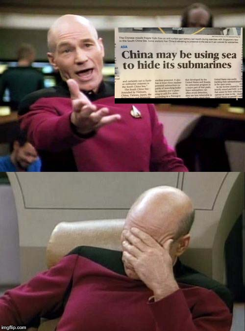 Picard WTF and Facepalm combined | image tagged in picard wtf and facepalm combined | made w/ Imgflip meme maker
