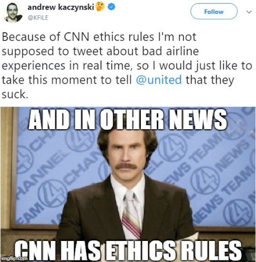 image tagged in cnn,andrew kaczynski | made w/ Imgflip meme maker