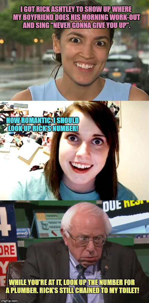 "New Overly Attached Girlfriend On The Block | I GOT RICK ASHTLEY TO SHOW UP WHERE MY BOYFRIEND DOES HIS MORNING WORK-OUT AND SING ""NEVER GONNA GIVE YOU UP"". HOW ROMANTIC, I SHOULD LOOK U 