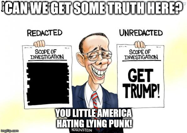 CAN WE GET SOME TRUTH HERE? YOU LITTLE AMERICA HATING LYING PUNK! | image tagged in rosenstein | made w/ Imgflip meme maker