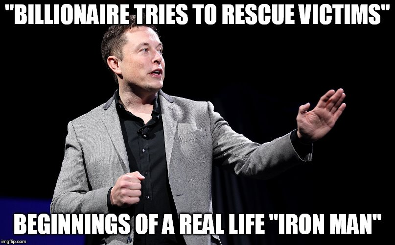"""BILLIONAIRE TRIES TO RESCUE VICTIMS"" BEGINNINGS OF A REAL LIFE ""IRON MAN"" 