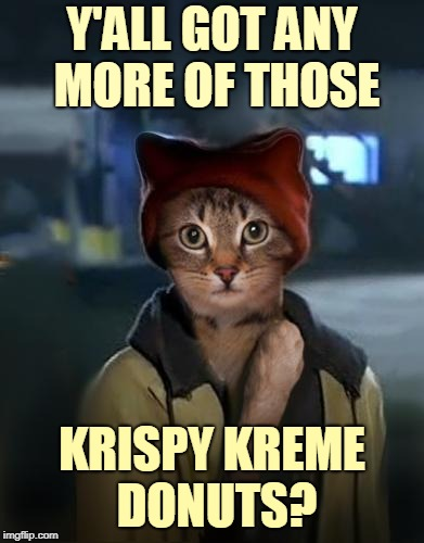 Y'ALL GOT ANY MORE OF THOSE KRISPY KREME DONUTS? | made w/ Imgflip meme maker