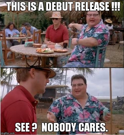 See Nobody Cares Meme | THIS IS A DEBUT RELEASE !!! SEE ?  NOBODY CARES. | image tagged in memes,see nobody cares | made w/ Imgflip meme maker