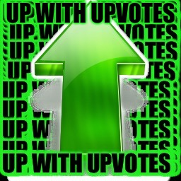 upvote | UP WITH UPVOTES | image tagged in upvote | made w/ Imgflip meme maker