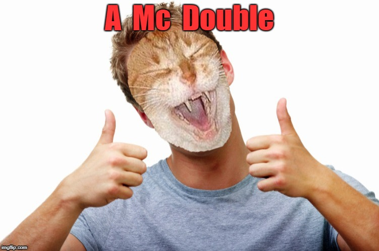 A  Mc  Double | made w/ Imgflip meme maker