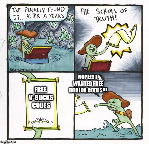 The Scroll Of Truth Meme Imgflip