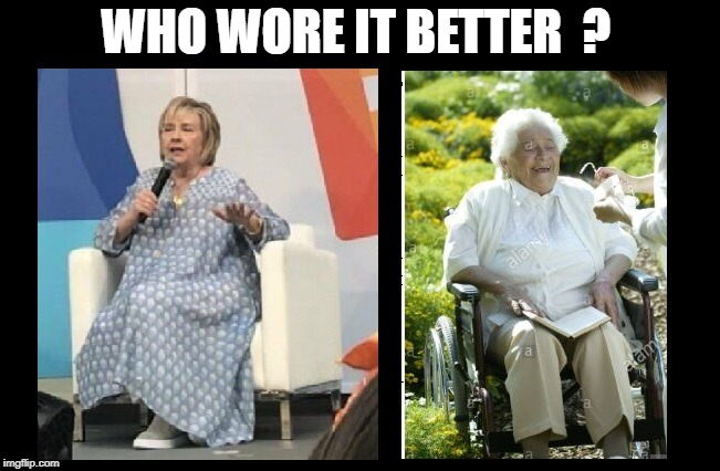 Hiltery Rotten Clinton | WHO WORE IT BETTER  ? | image tagged in hitlery rotten 2020 | made w/ Imgflip meme maker