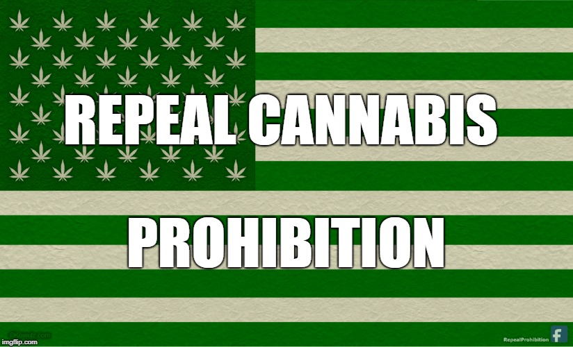 Repeal Cannabis Prohibition | REPEAL CANNABIS PROHIBITION | image tagged in cannabis,marijuana,prohibition,repeal cannabis prohibition,weed,reefer | made w/ Imgflip meme maker