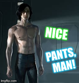 NICE PANTS, MAN! | made w/ Imgflip meme maker