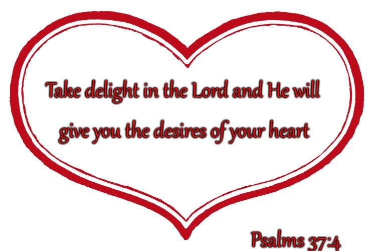 Psalms 37:4 Take Delight In the Lord | Take delight in the Lord and He will Psalms 37:4 give you the desires of your heart | image tagged in bible,holy bible,bible verse,holy spirit,lord,verse | made w/ Imgflip meme maker
