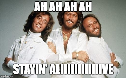 Stayin Alive | AH AH AH AH STAYIN' ALIIIIIIIIIIIIVE | image tagged in stayin alive | made w/ Imgflip meme maker