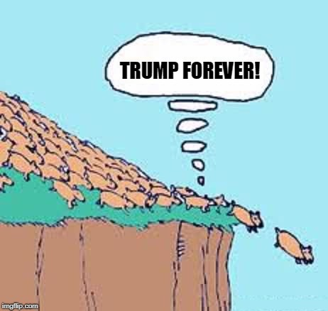 We Love You, Donald! | TRUMP FOREVER! | image tagged in trump,forever,lemming | made w/ Imgflip meme maker