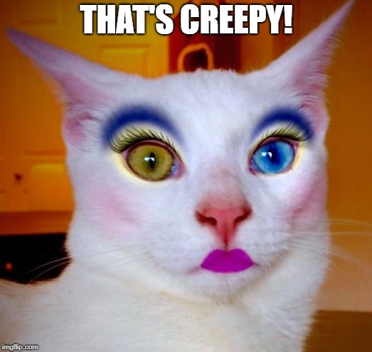 THAT'S CREEPY! | made w/ Imgflip meme maker