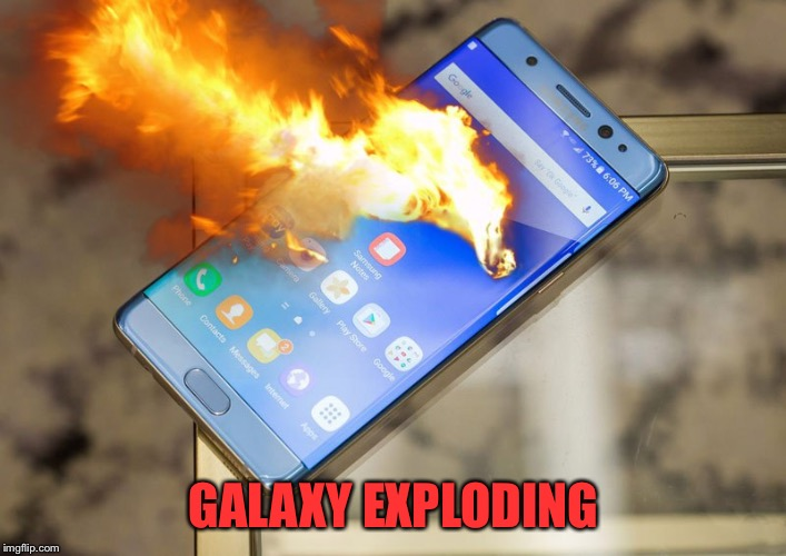 GALAXY EXPLODING | made w/ Imgflip meme maker