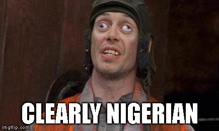 Cross eyes | CLEARLY NIGERIAN | image tagged in cross eyes | made w/ Imgflip meme maker
